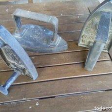 Antigüedades: LOTE DE 3 PLANCHAS EXCLUSIVAS ALTA CALIDAD , MUY DIFICILES VER FOTOS. Lote 260702825