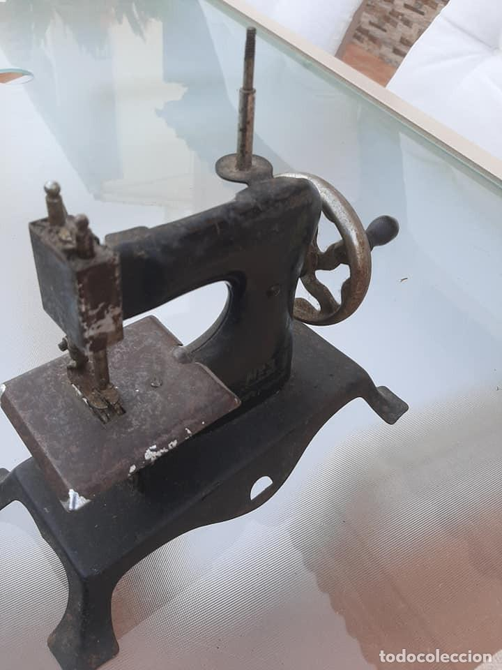 Antigüedades: maquina de coser - Foto 3 - 212261652