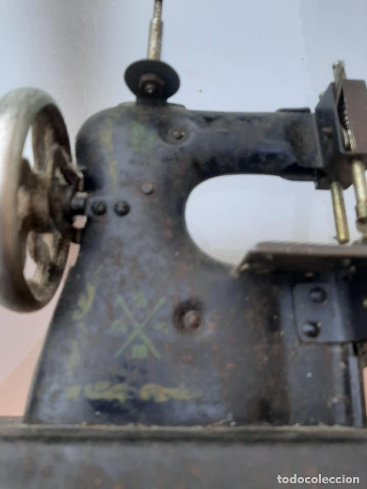 Antigüedades: maquina de coser - Foto 5 - 212261652