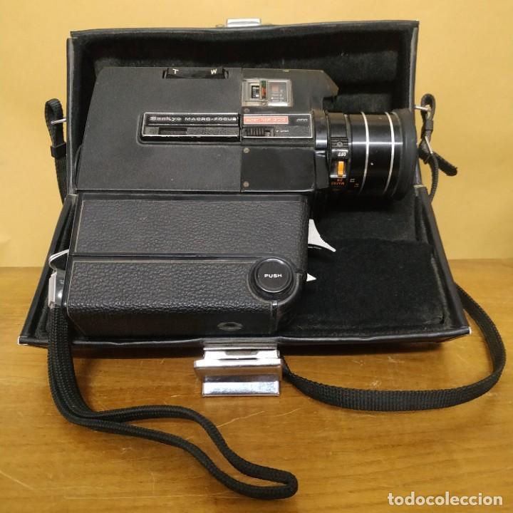 SANKYO MACRO-FOCUS SUPER 8 MF 303 - JAPAN (Antigüedades - Técnicas - Aparatos de Cine Antiguo - Cámaras de Super 8 mm Antiguas)