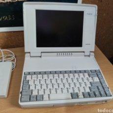 Antigüedades: TOSHIBA NOTEBOOK T1910 / 120 ANTIGUO ORDENADOR PORTATIL PC DOS WINDOWS 3.1 - NO FUNCIONA. Lote 260832040