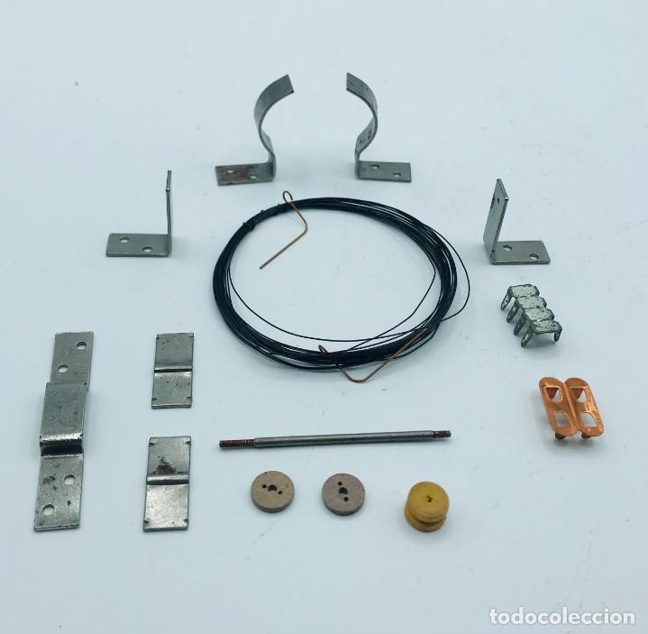 """Antigüedades: """"El Elektromotor"""", piezas para consturir un electormor de 6000 vueltas por minuto. - Foto 2 - 260872585"""