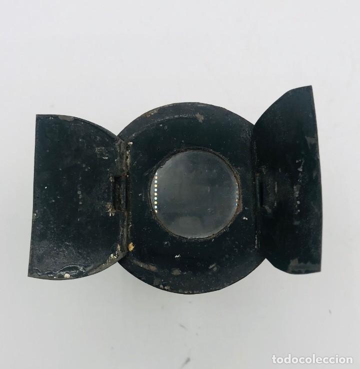 Antigüedades: Lente de aumento en metal, del siglo XX. - Foto 2 - 260874805
