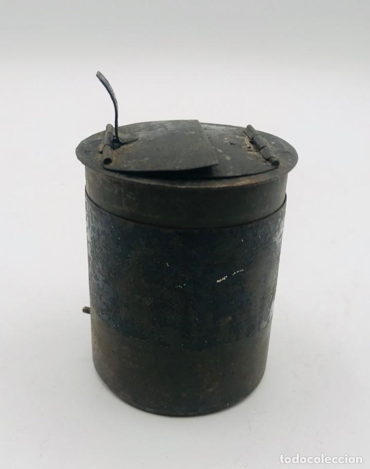 Antigüedades: Lente de aumento en metal, del siglo XX. - Foto 3 - 260874805