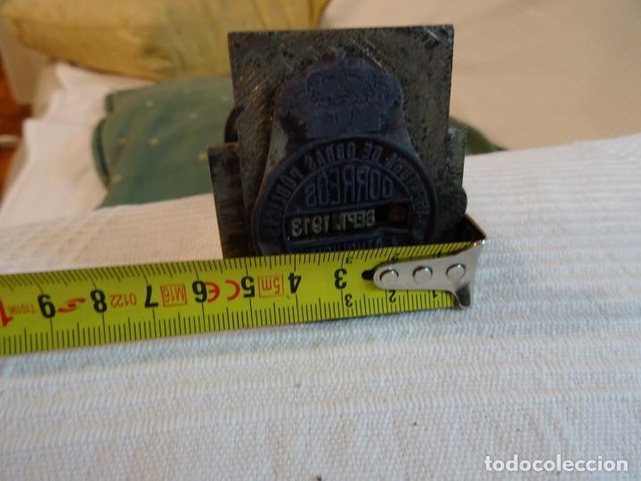 Antigüedades: Año: 1915.- Sello fechador. Correos, Obras Publicas, época Alfonso XIII - Foto 8 - 261156940