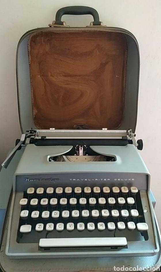 Antigüedades: Maquina escribir Remington Travel Riter Deluxe - Foto 2 - 261205345