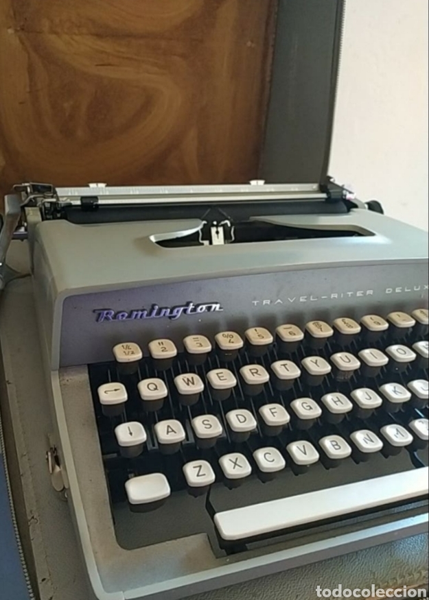 Antigüedades: Maquina escribir Remington Travel Riter Deluxe - Foto 4 - 261205345