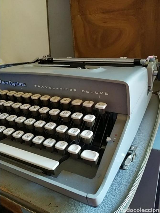Antigüedades: Maquina escribir Remington Travel Riter Deluxe - Foto 5 - 261205345