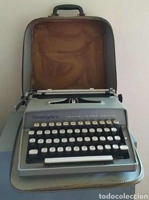 MAQUINA ESCRIBIR REMINGTON TRAVEL RITER DELUXE (Antigüedades - Técnicas - Máquinas de Escribir Antiguas - Remington)