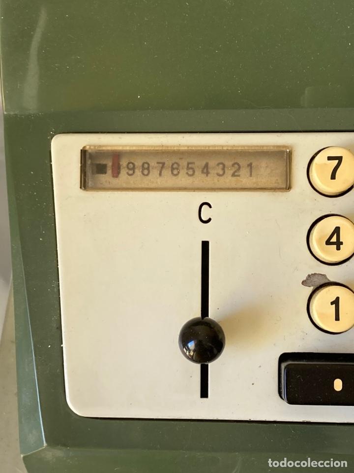 Antigüedades: Antigua calculadora de mesa olivetti - Foto 3 - 261254920