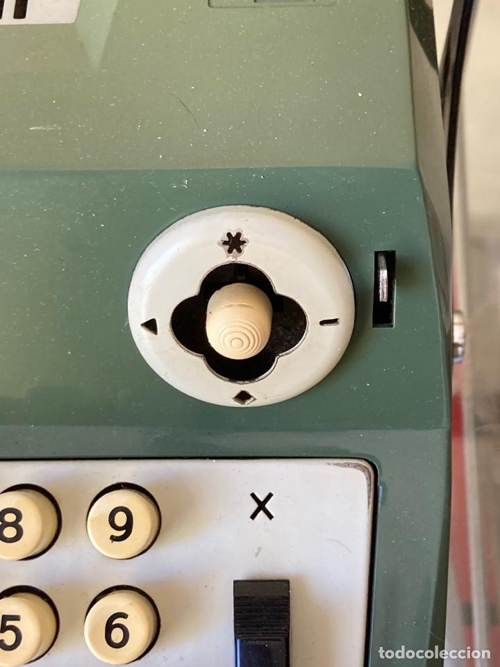 Antigüedades: Antigua calculadora de mesa olivetti - Foto 4 - 261254920