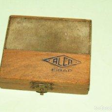 Antigüedades: ANTIGUA ESCUADRA DE PRECISIÓN EN ACERO TEMPLADO INOX. DE ALCA EN EIBAR. Lote 261255345