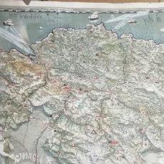 Antigüedades: GRAN MAPA DE EUSKAL HERRIA ANTIGUO.. Lote 261307345