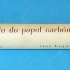 Antigüedades: ANTIGUO ROLLO DE PAPEL CARBON,17 CM. DOS HOJAS PRECINTADO. Lote 261358485