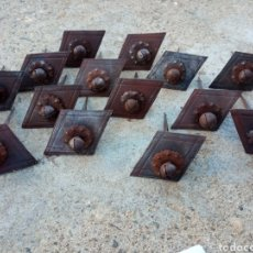 Antigüedades: LOTE 14 CLAVOS FORJA TOLEDANOS.. Lote 261537310