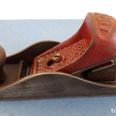Antigüedades: CEPILLO URKO EIBAR Nº6 CON CUCHILLA ORIGINAL DE 3,8CM APROX, LARGO 16,5CM APROX. Lote 261561190