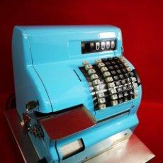 Antigüedades: ANTIGUA CAJA REGISTRADORA HUGIN K-36 DEL AÑO 1963. Lote 261562720