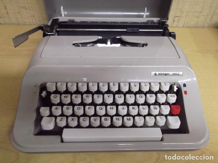 MAQUINA DE ESCRIBIR Ö KÖNIGER 9802. (Antigüedades - Técnicas - Máquinas de Escribir Antiguas - Otras)