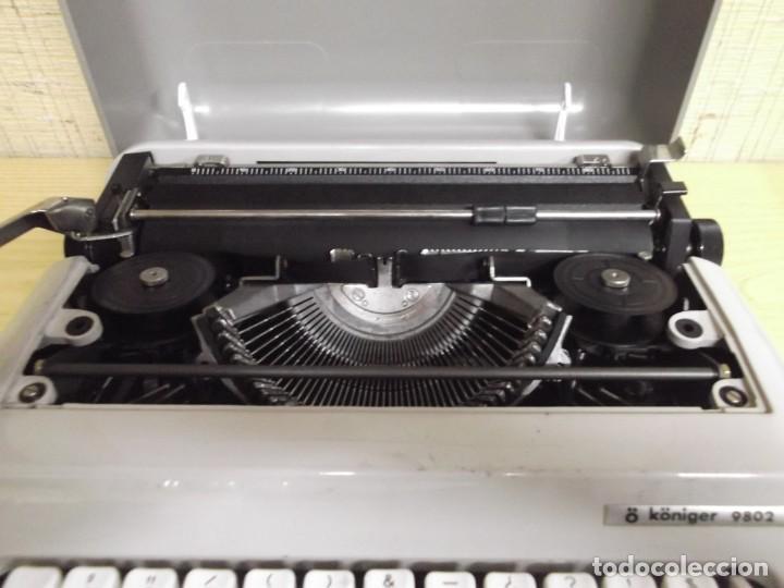 Antigüedades: Maquina de escribir Ö Königer 9802. - Foto 5 - 261832815