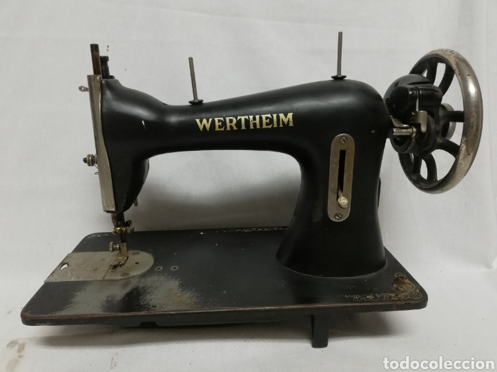 MAQUINA DE COSER WERTHEIM. (Antigüedades - Técnicas - Máquinas de Coser Antiguas - Wertheim )