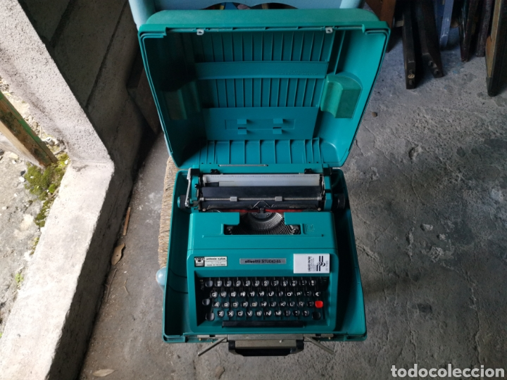 Antigüedades: Máquina de escribir olivetti studio 45 - Foto 2 - 262005915