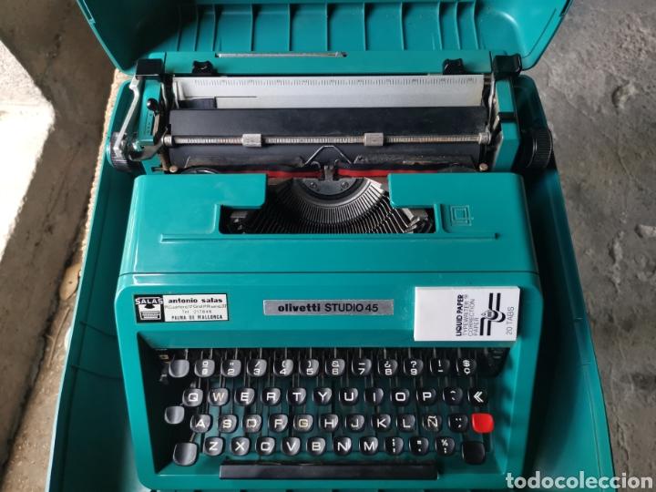 Antigüedades: Máquina de escribir olivetti studio 45 - Foto 3 - 262005915