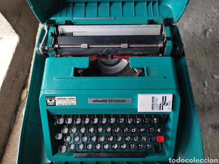 Antigüedades: Máquina de escribir olivetti studio 45 - Foto 4 - 262005915
