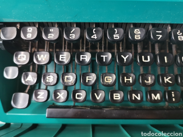 Antigüedades: Máquina de escribir olivetti studio 45 - Foto 6 - 262005915