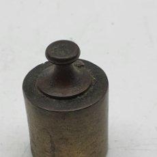 Antigüedades: PESO PARA BALANZA ANTIGUA ( 100 GR ) BRONCE ( VER FOTOS ). Lote 262061740