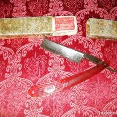 Antigüedades: NAVAJA DE AFEITAR FILARMONICA JOSÉ MONTSERRAT. Lote 262083835