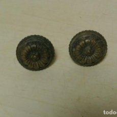 Antigüedades: TIRADORES DE BRONCE. Lote 262094835