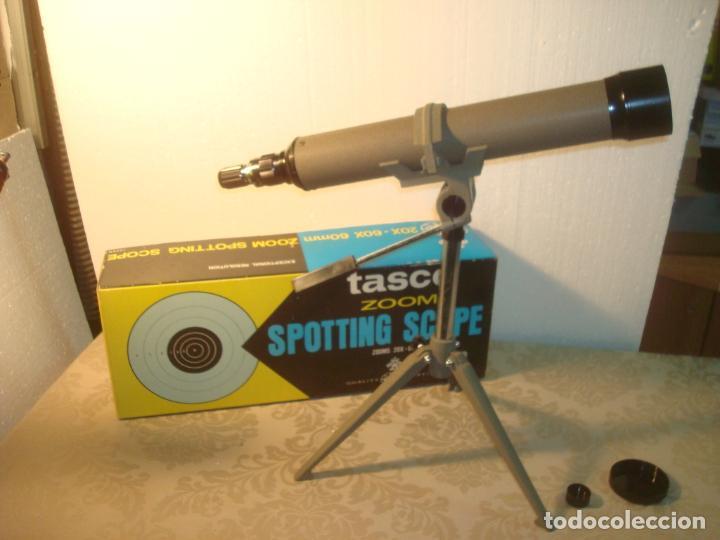 Antigüedades: tasco 18 e 20x 60x 1977 en caja - Foto 6 - 262183125