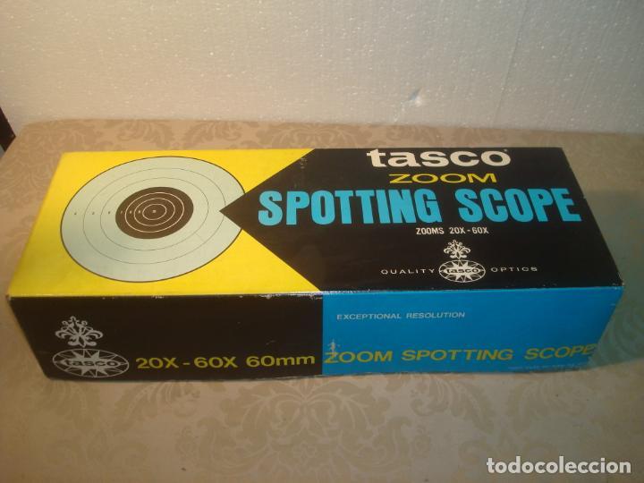 Antigüedades: tasco 18 e 20x 60x 1977 en caja - Foto 19 - 262183125