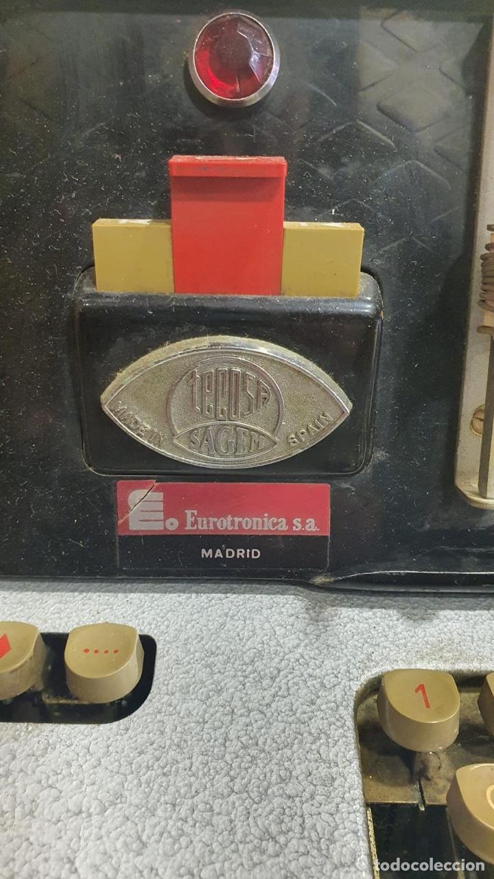 Antigüedades: Antiguo teletipo fabricación española, solo recogida en tienda - Foto 3 - 262216085