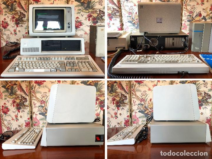 Antigüedades: IBM XT Model 286 - CPU 5162 / MONITOR 5151 / TECLADO XT-286 515X / IMPRESORA 4202 / RECIBOS LOGIC - Foto 2 - 262294415