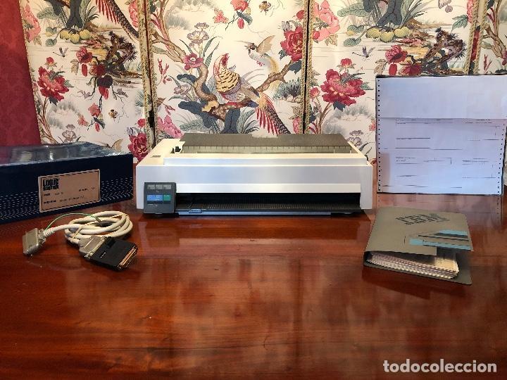 Antigüedades: IBM XT Model 286 - CPU 5162 / MONITOR 5151 / TECLADO XT-286 515X / IMPRESORA 4202 / RECIBOS LOGIC - Foto 5 - 262294415