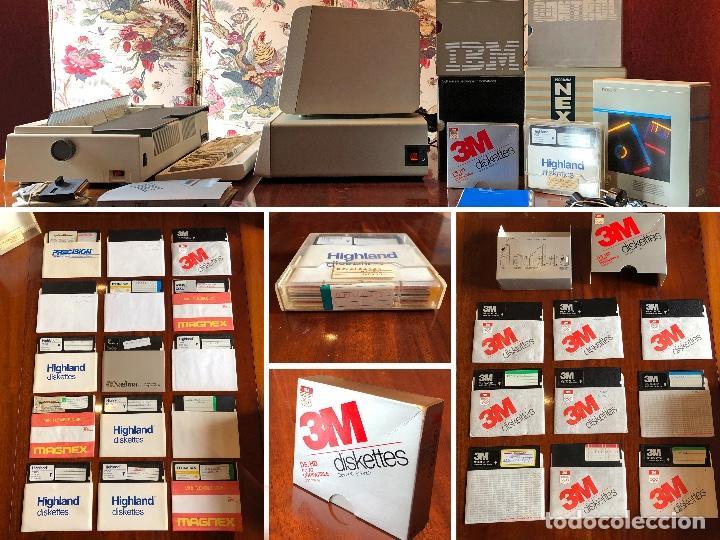Antigüedades: IBM XT Model 286 - CPU 5162 / MONITOR 5151 / TECLADO XT-286 515X / IMPRESORA 4202 / RECIBOS LOGIC - Foto 10 - 262294415