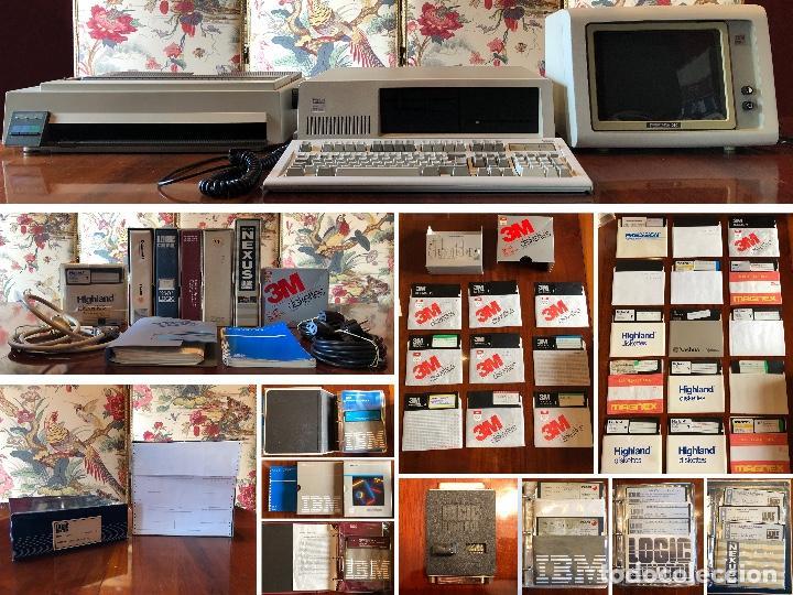 Antigüedades: IBM XT Model 286 - CPU 5162 / MONITOR 5151 / TECLADO XT-286 515X / IMPRESORA 4202 / RECIBOS LOGIC - Foto 12 - 262294415