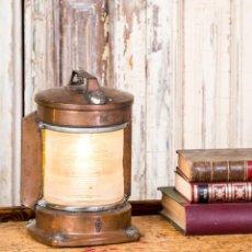 Antigüedades: FAROL ANTIGUO DE BARCO. Lote 262350175