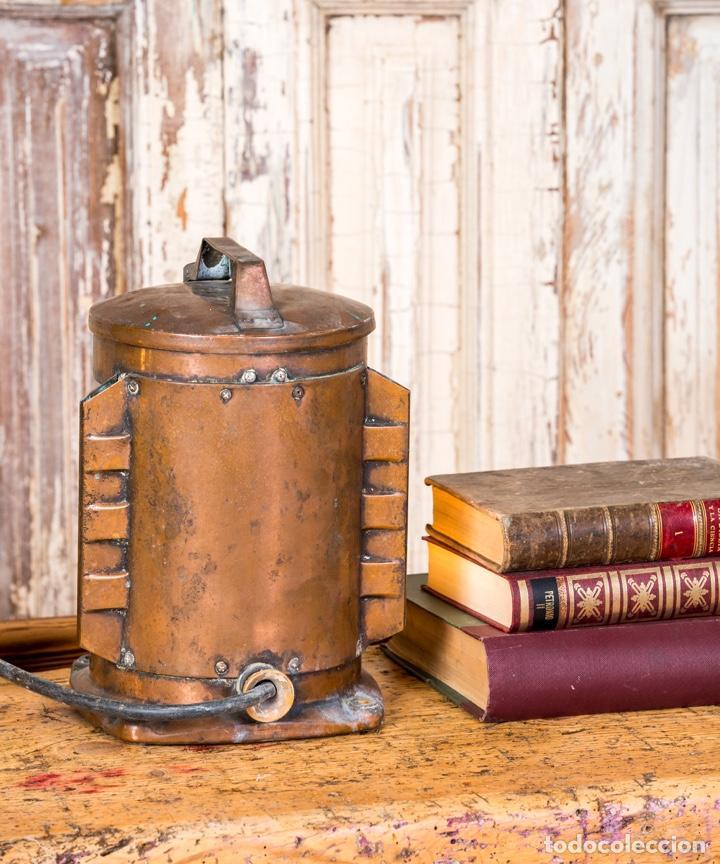 Antigüedades: Farol Antiguo De Barco - Foto 4 - 262350175
