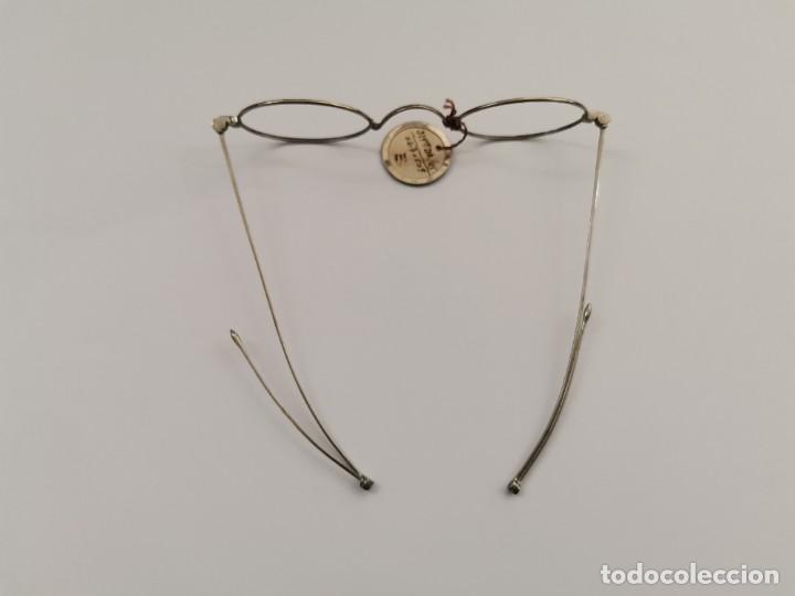 Antigüedades: JOY-1618. MONTURA PARA GAFAS DE NIQUEL. PRINCIPIOS .XX. - Foto 2 - 262382660