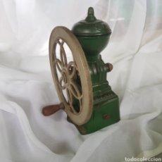 Antigüedades: PRECIOSO MOLINILLO DE CAFE MARCA ORIGINAL. Lote 262386425