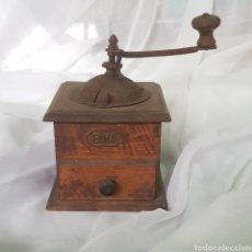 Antigüedades: ANTIGUO Y BONITO MOLINILLO DE CAFE MARCA ELMA. Lote 262389625