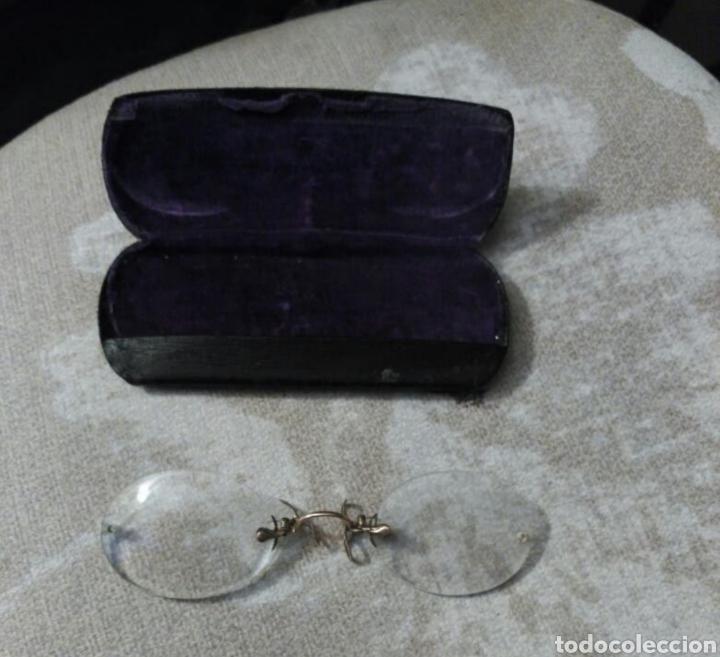 Antigüedades: Anteojos Quevedo antiguos - Foto 2 - 262485765