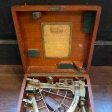 Antigüedades: SEXTANTE NATIONAL PHYSICAL LABORATORY ORIGINAL AÑO 1909 (G). Lote 262515525
