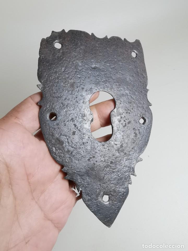Antigüedades: BOCALLAVE FORJA MANUAL CATALANA SIGLO XVIII - Foto 2 - 262535230