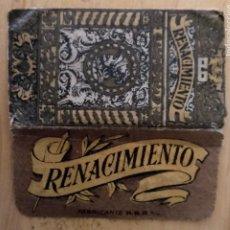 Antigüedades: HOJA AFEITAR RENACIMIENTO EXTRA LUJO. Lote 262543520