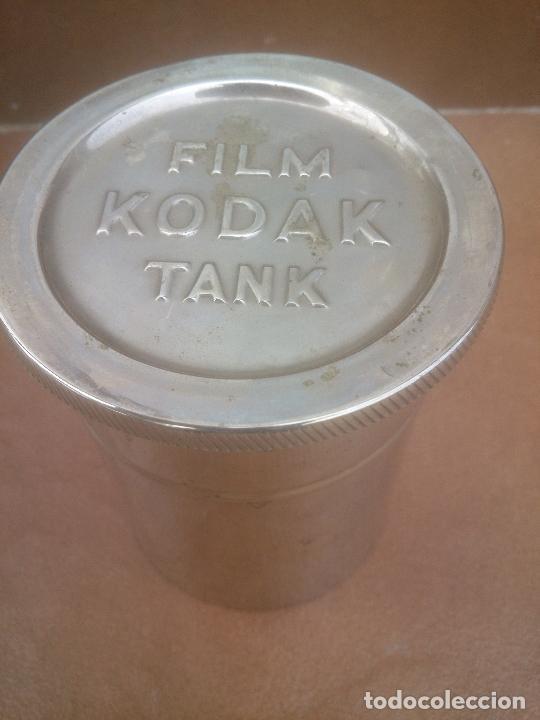 Antigüedades: ANTIGUO TANQUE DE REVELADO - FILM KODAK TANK - Foto 2 - 262559705