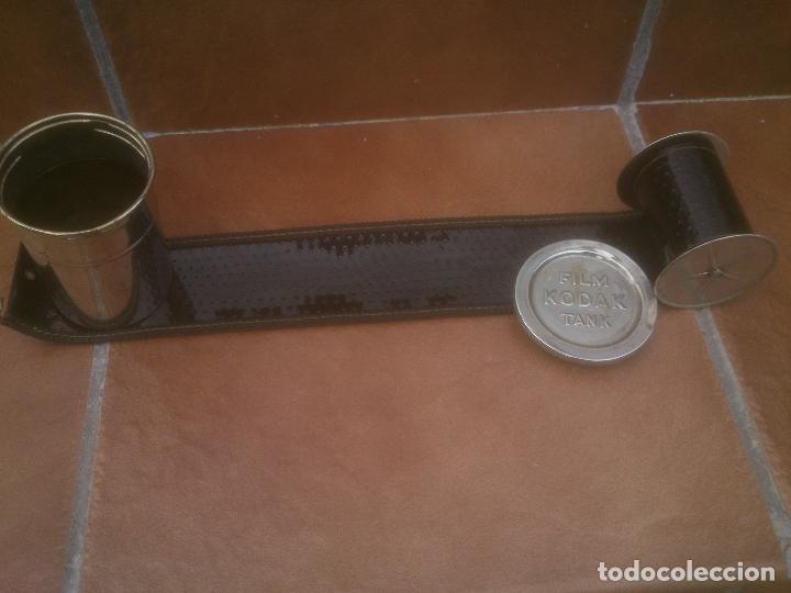 Antigüedades: ANTIGUO TANQUE DE REVELADO - FILM KODAK TANK - Foto 4 - 262559705