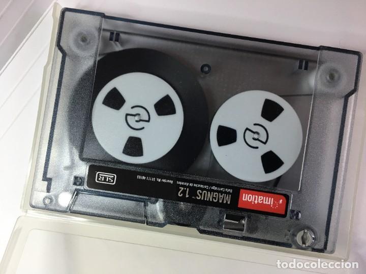 Antigüedades: CARTUCHO DE DATOS IMATION MAGNUS 1.2 GB - Foto 2 - 262598650